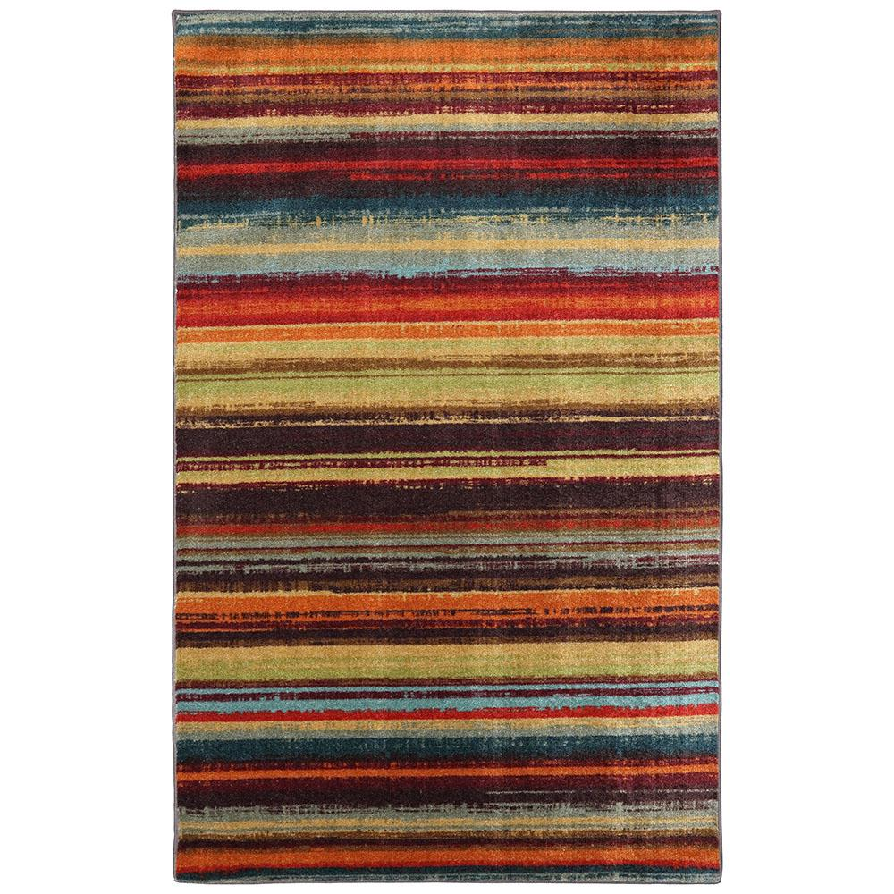 Mohawk Home Traditional Jewel Rug: Mohawk Home Picasso Wine 5 Ft. X 8 Ft. Area Rug-156916