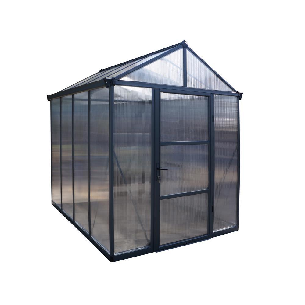 Palram 6 ft. x 8 ft. Glory Premium Class Greenhouse