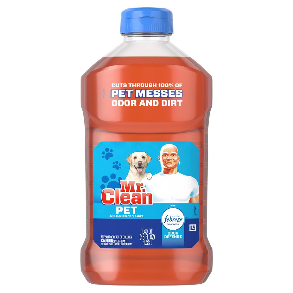 Mr. Clean 45 oz. Pet Multi-Surface Cleaner with Febreze