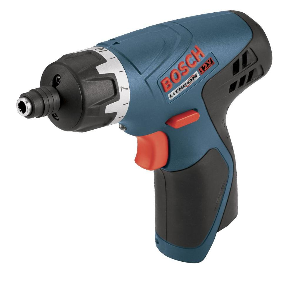 Bosch 12 Volt Lithium-Ion Pocket Driver Bare Tool (Tool Only)