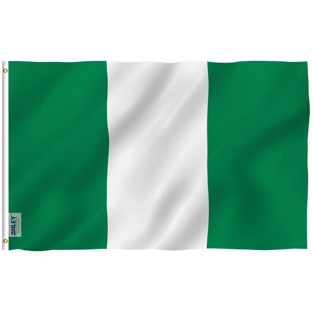Anley Fly Breeze 3 Ft X 5 Ft Polyester Nigeria Flag 2