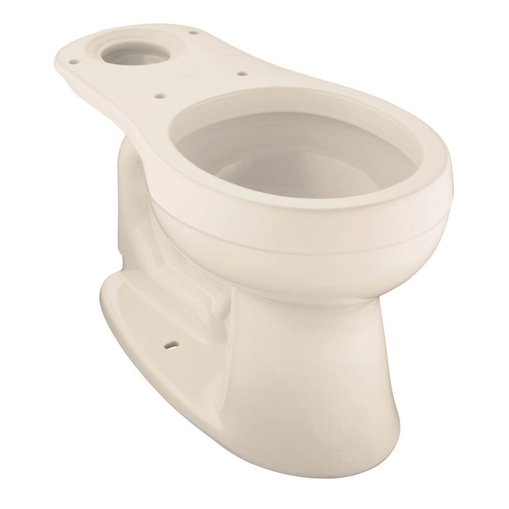 Kohler Cimarron Round Front Toilet Bowl Only Less Seat In