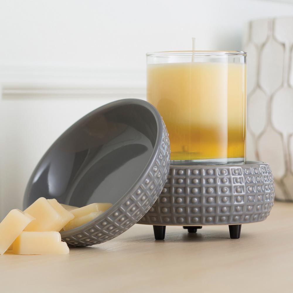 5.2 in. Slate 2-in-1 Classic Fragrance Warmer