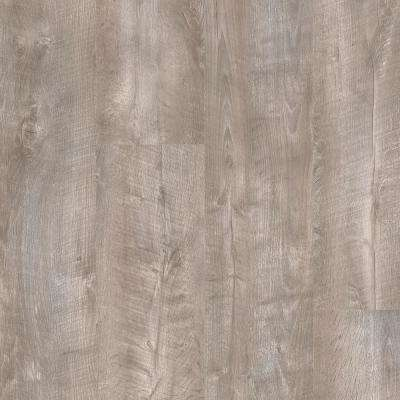 Stony Oak Beige and Grey 8 in. Wide x 48 in. Length Click Floating luxury vinyl plank flooring (18.22 sq. ft./case)