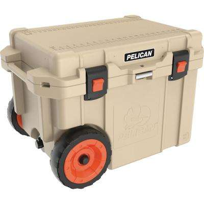 Elite 45 Qt. Chest Cooler with Built-in Wheels