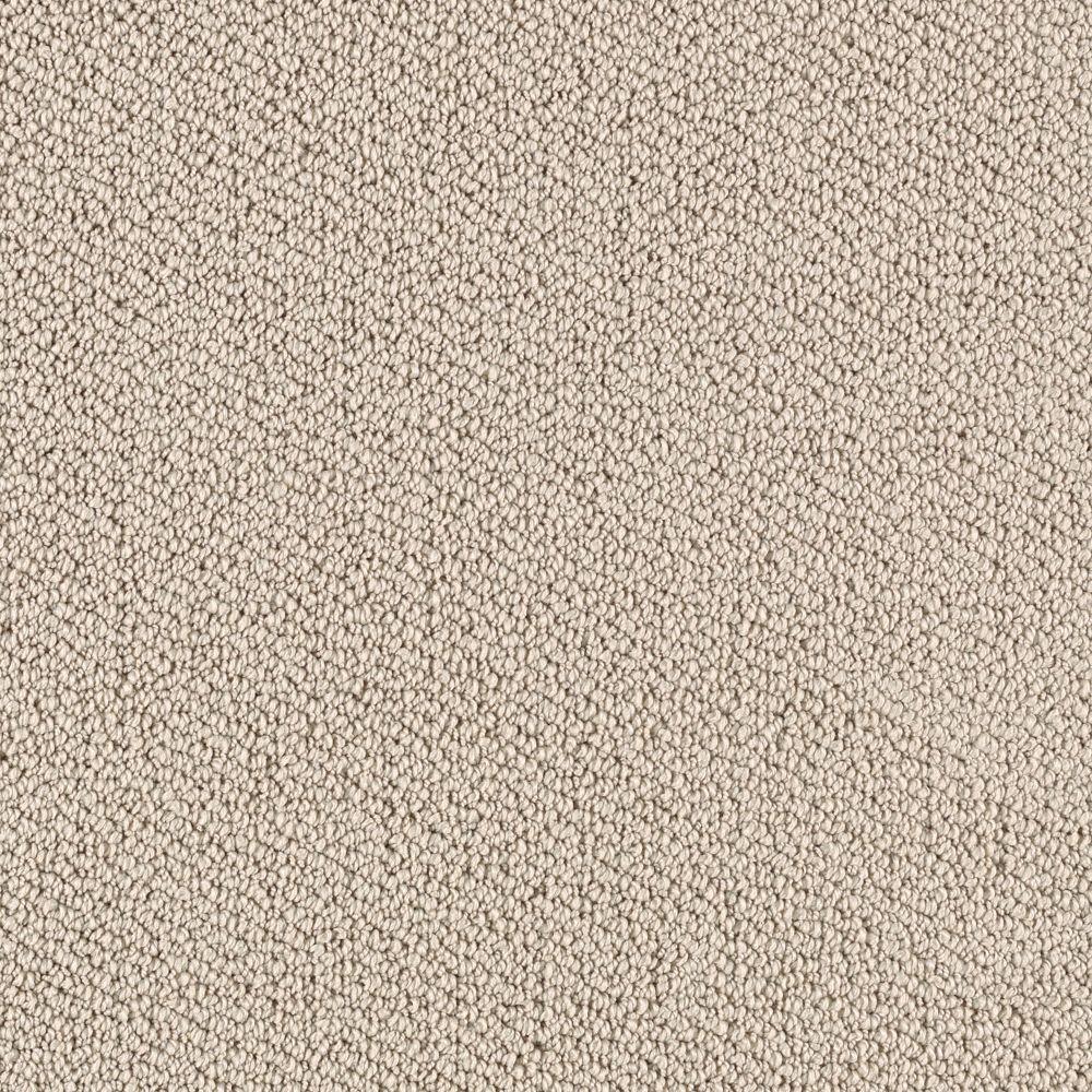 Lower Treasure - Color Plaza Buff Pattern 12 ft. Carpet