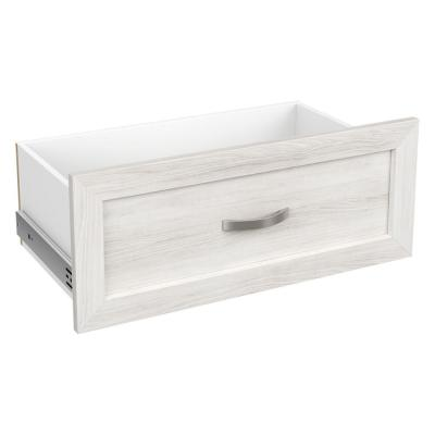 Style+ 10 in. x 25 in. Bleached Walnut Shaker Drawer Kit for 25 in. W Style+ Tower