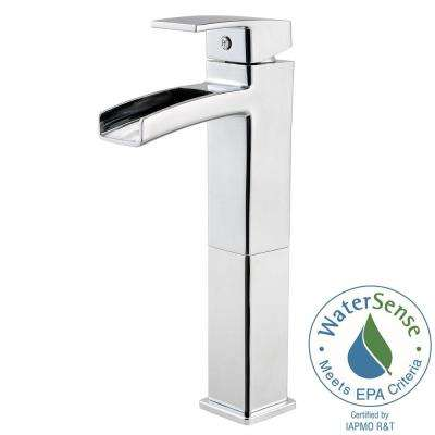Kenzo Single Hole Single-Handle Vessel Bathroom Faucet in Polished Chrome