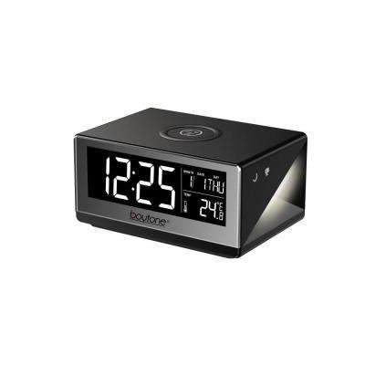 BT12B Fast Wireless Phone Charger with Alarm Clock