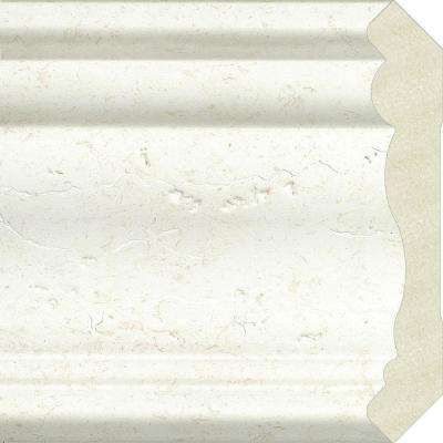 Sample Upscale Designs 0.7 in. x 4.5 in. x 6 in. Polystyrene Crown Moulding