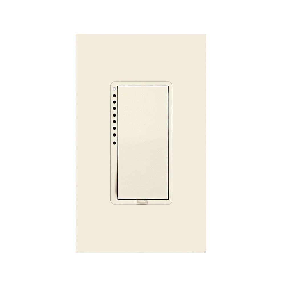 Insteon 600-Watt 12 Amp Multi-Location Dimmer Switch - Light Almond ...