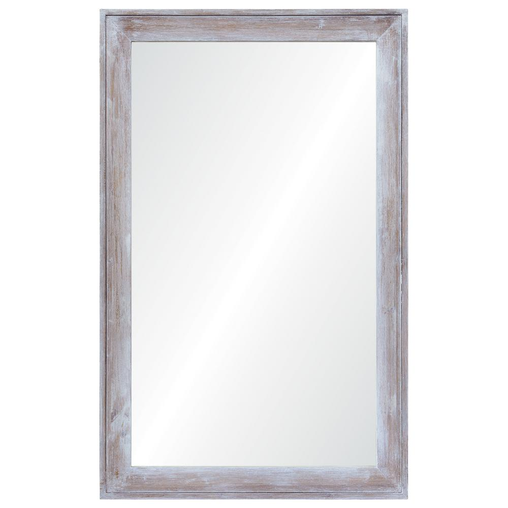 Madison 48 in. x 30 in. Framed Wall Mirror