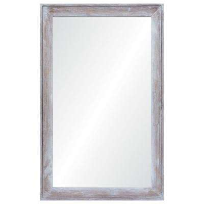 30 x 48 mirror 48 inch madison 48 in 30 framed wall mirror mirrors home decor the depot