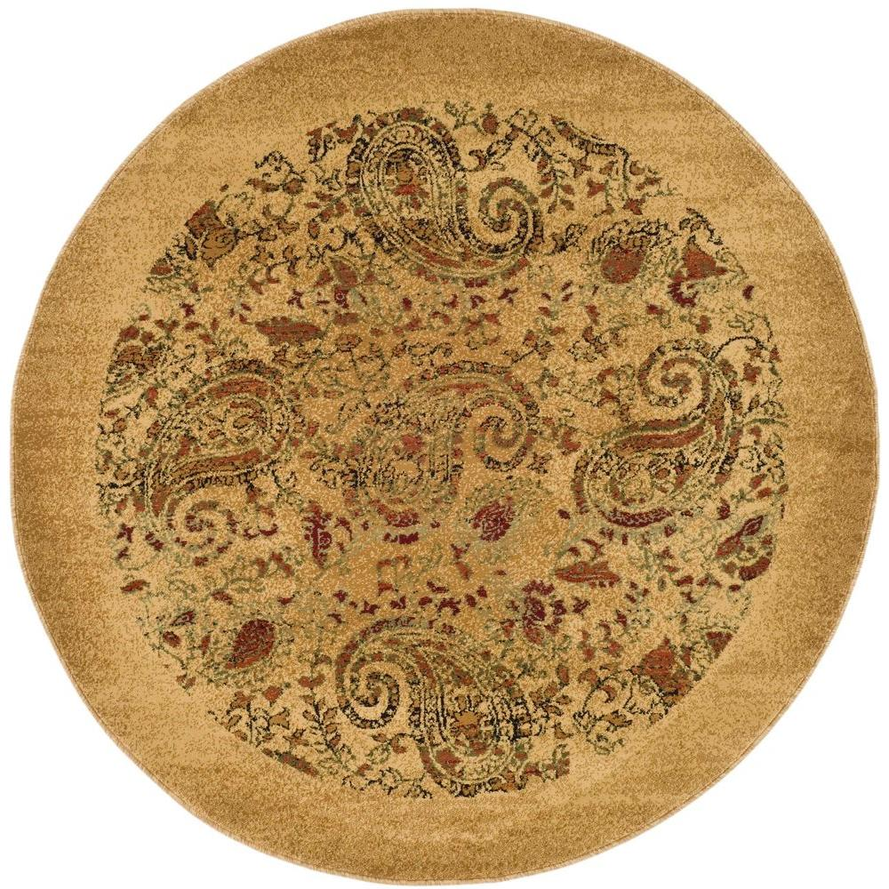 Oriental Rugs Jupiter Florida: Safavieh Florida Shag Cream/Beige 5 Ft. X 5 Ft. Round Area