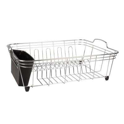 17.75 in. x 14.25 in. x 6.50 in. Chrome Dish Drainer