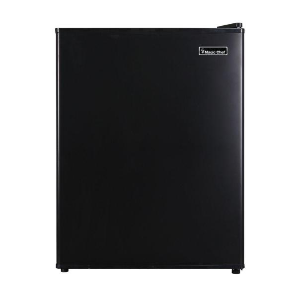 2.4 cu. ft. Mini Fridge in Black