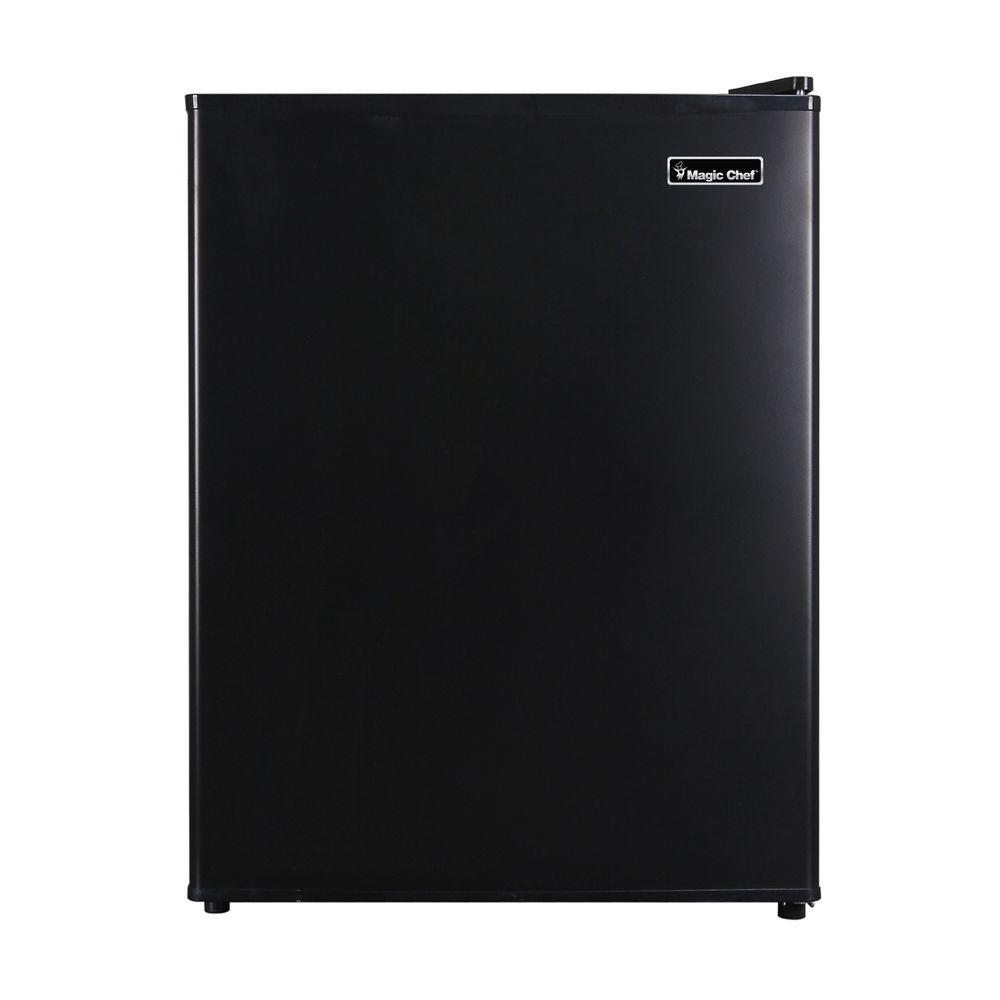Magic Chef 2.4 cu. ft. Mini Refrigerator in Black