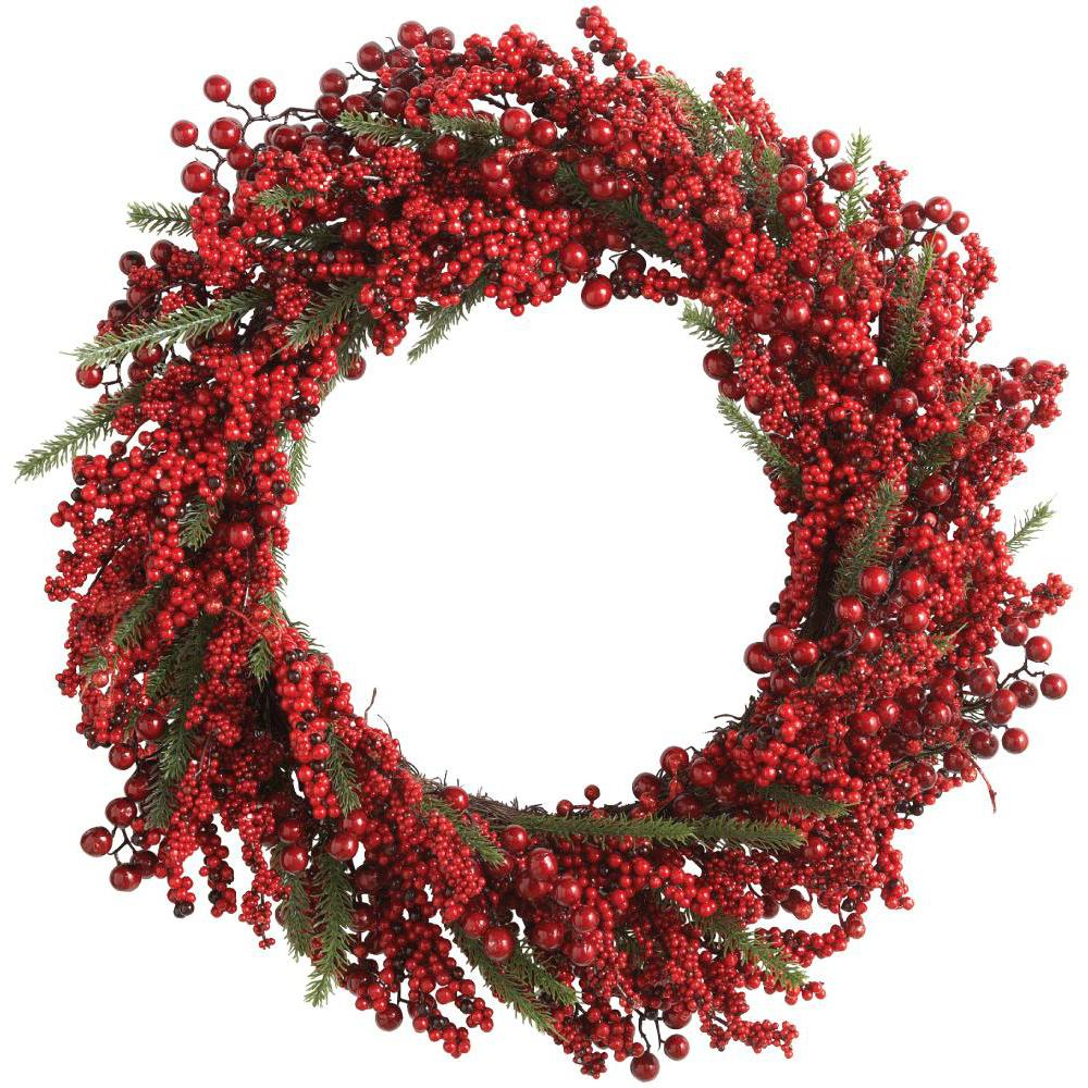 Home accents holiday 30 in battery operated holiday for Burlap wreath with lights