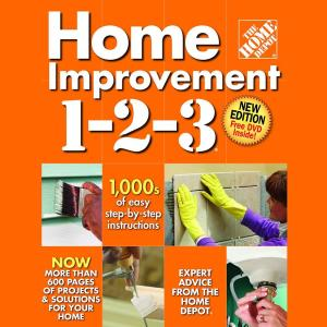 home depot home improver card the home depot home improvement 3rd edition with dvd 321