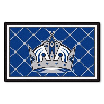 Los Angeles Kings 4 ft. x 6 ft. Area Rug