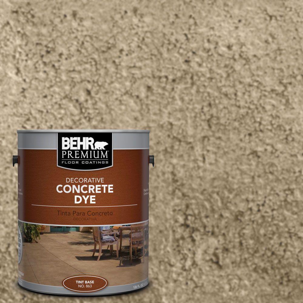 Behr Premium 1 Gal Cd 870 Sand Concrete Dye 86301 The