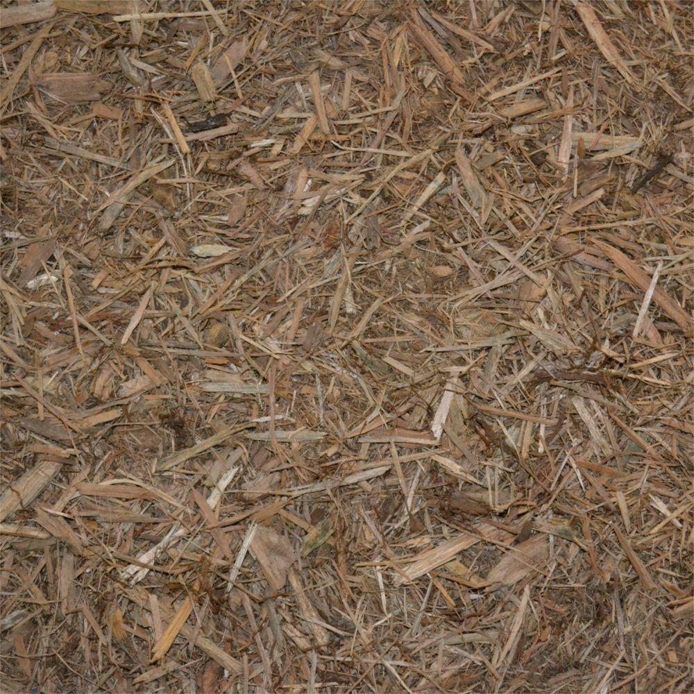 9 cu. yd. Cypress Loose Bulk Mulch