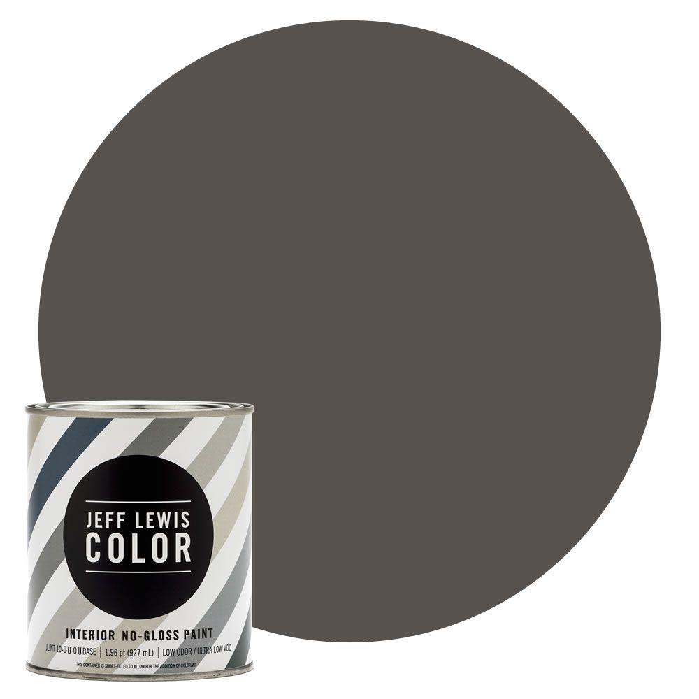 Jeff Lewis Color 1-qt. #JLC112 Beaver No-Gloss Ultra-Low VOC ...