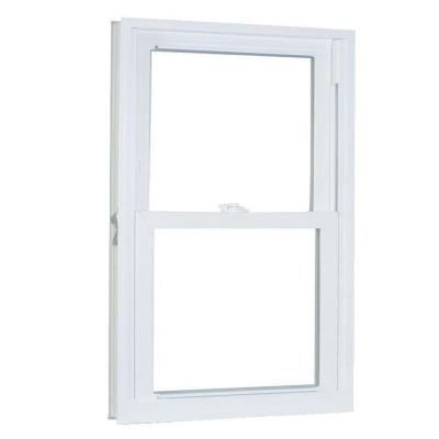 23.75 in. x 37.25 in. 70 Series Pro Double Hung White Vinyl Window