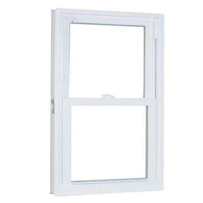 23.75 in. x 40 in. 70 Series Pro Double Hung White Vinyl Window