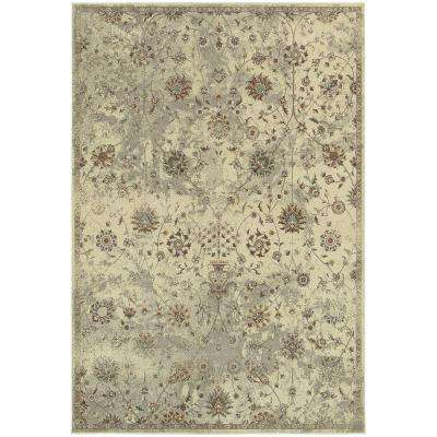 Carver Beige 10 ft. x 13 ft. Area Rug