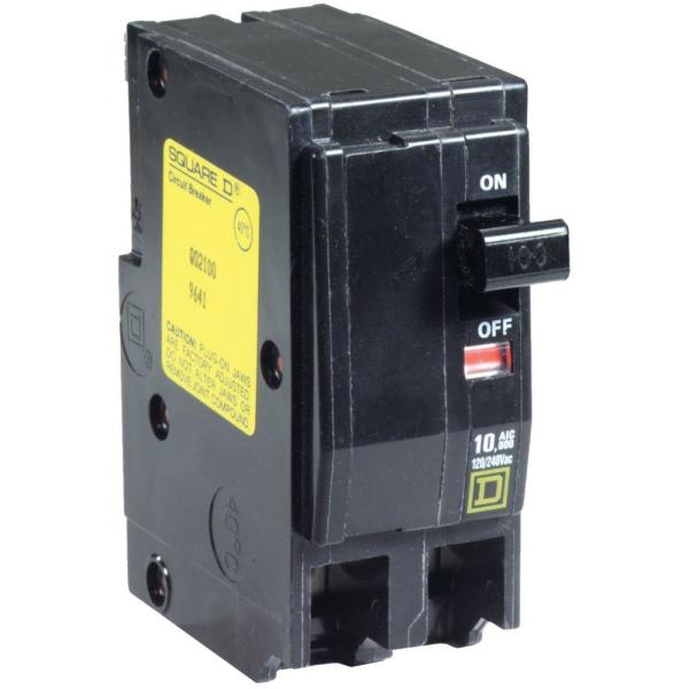 QOU2100 Molded Case 100A 240V Circuit Breaker 2Pole QOU Series QOU Circuit