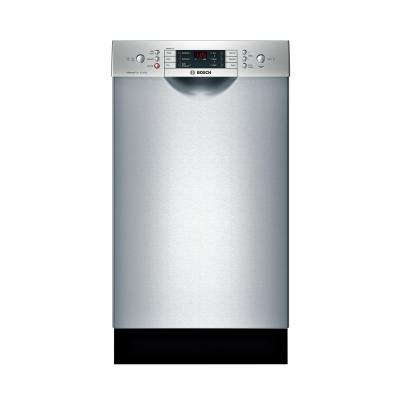 800 Series 18 in. ADA Compact Front Control Dishwasher in Stainless Steel with Stainless Steel Tub and 3rd Rack, 44dBA