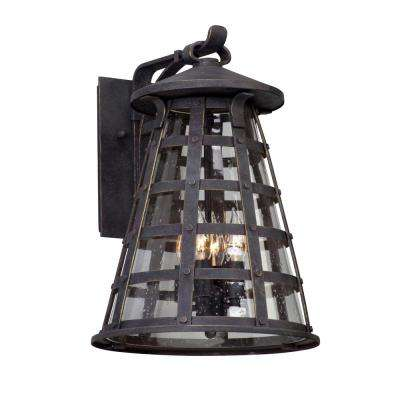 Benjamin 4-Light Vintage Iron Outdoor Wall Mount Sconce