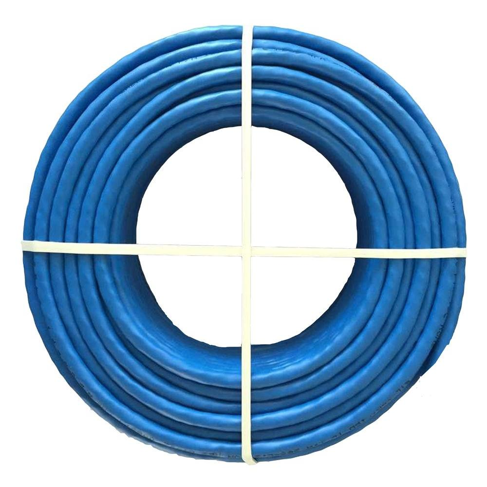 Syston Cable Technology Cat6 100 Ft Blue 23 4 Riser Twisted Pair Wiring House For