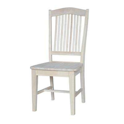 Stafford Unfinished Wood Dining Chair (Set of 2)