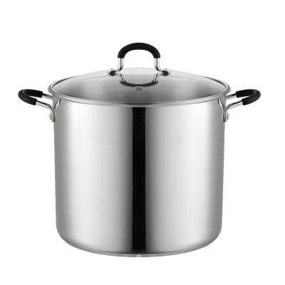 12 Qt. Stainless Steel Stockpot Saucepot with Lid