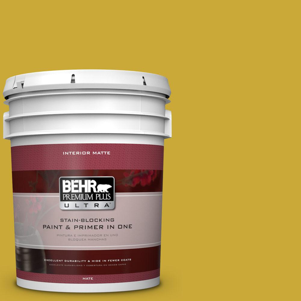 5 gal. #P320-7 Sweet and Sour Matte Interior Paint