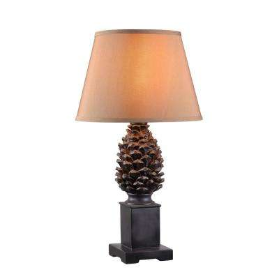 Spruce 27 in. Aged Bronze Outdoor Table Lamp