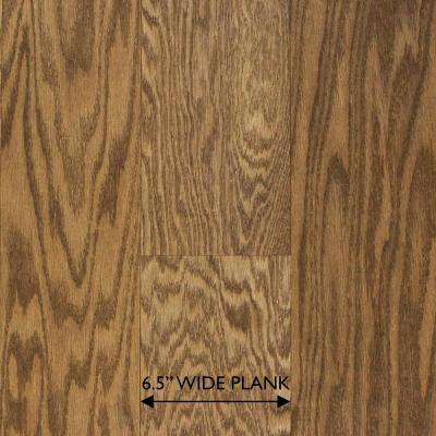 Brushed Oak Parchment 3/8 in. Thick x 6-1/2 in. Wide x Random Length Engineered Hardwood Flooring (33.3 sq. ft. / case)