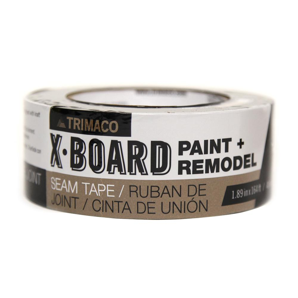 TRIMACO 1.89 in. x 164 ft. X-Board Seam Tape