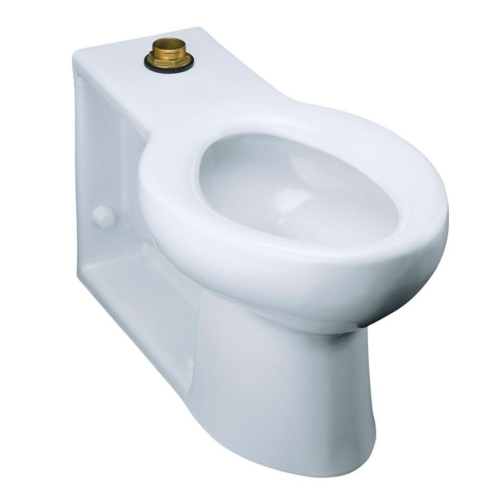 KOHLER Anglesey Elongated Toilet Bowl Only in White-K-4388-0 - The ...