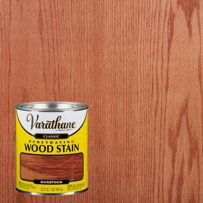 1 qt. Gunstock Classic Wood Interior Stain