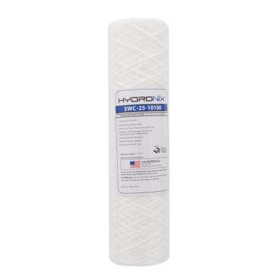 SWC-25-10100 2.5 in. x 10 in. 100 Micron String Wound Filter