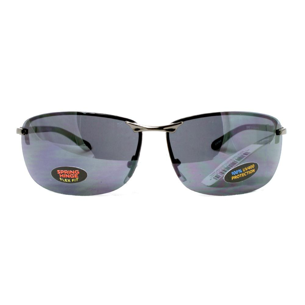 689a1c2cb9b4c Pugs Rimless Framed Sunglass with a Poly Carbonate Lens-M12 - The ...