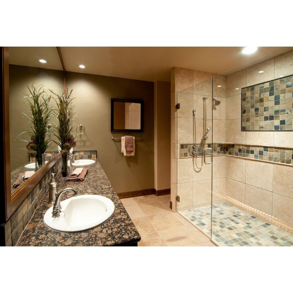Honed Travertine Wall And Floor Tile