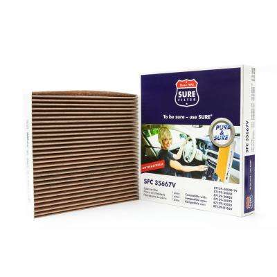 Replacement Antibacterial Cabin Air Filter for Wix 24483 Purolator C35667 Fram CF10285