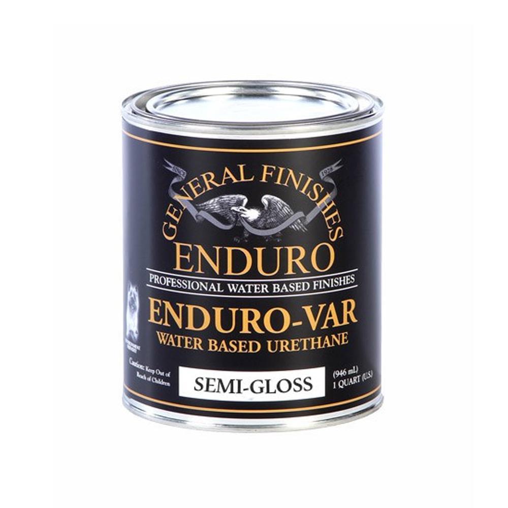 1-qt. Semi-Gloss Enduro-Var Urethane Interior Topcoat