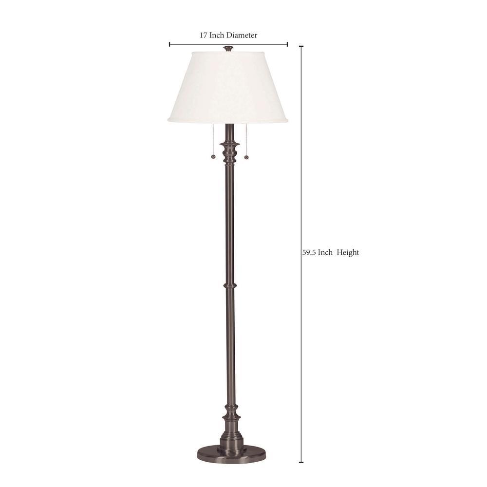 Spygl 60 In Bronze Floor Lamp