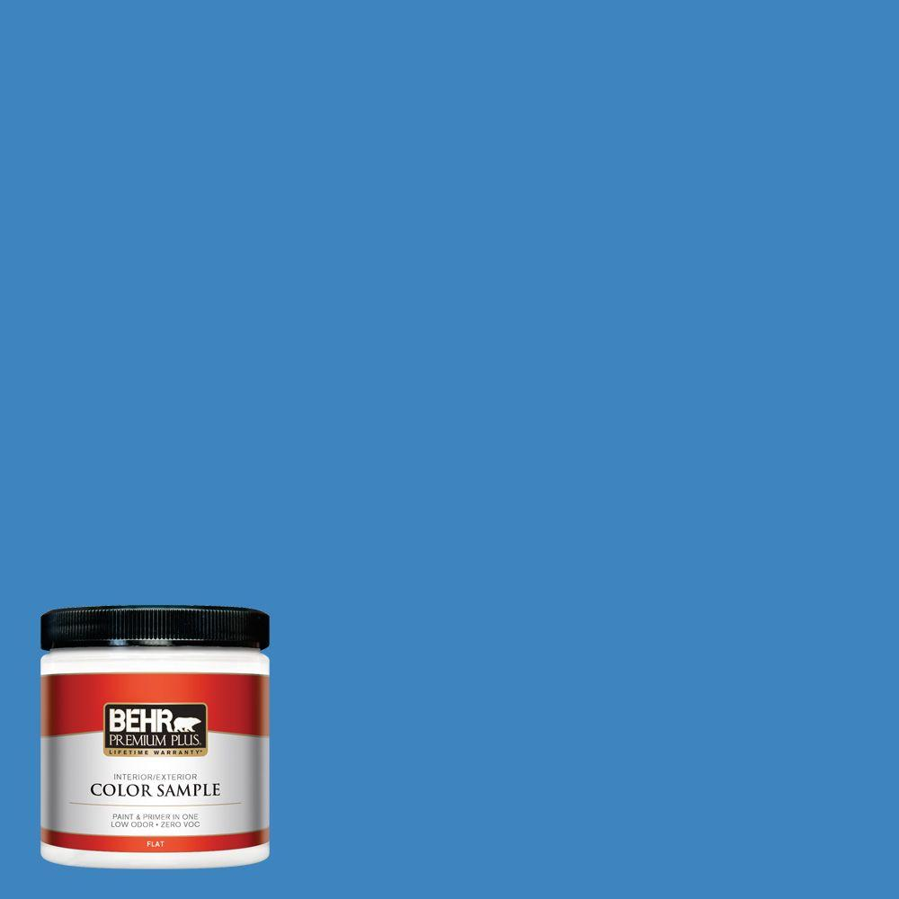 BEHR Premium Plus 8 oz. #560B-6 Warm Spring Interior/Exterior Paint Sample