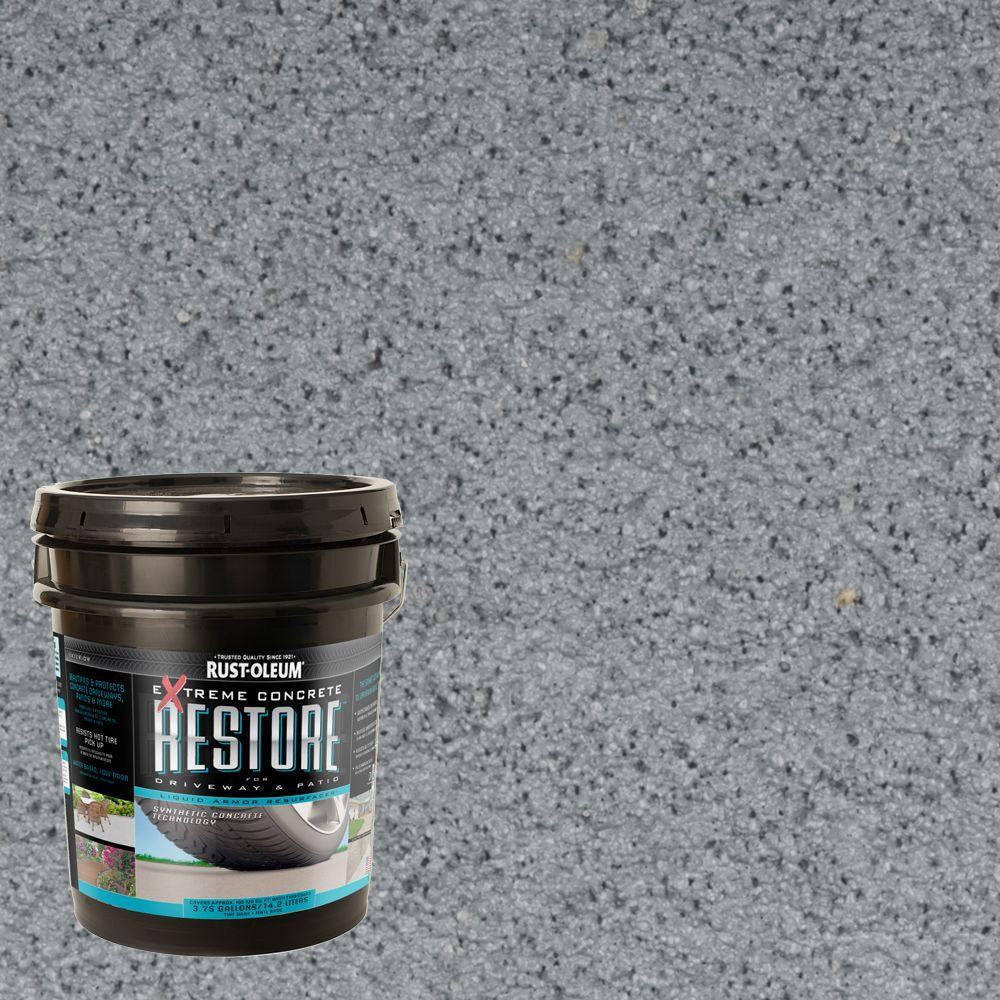 Rust-Oleum Restore 4 gal. Slate Liquid Armor Resurfacer